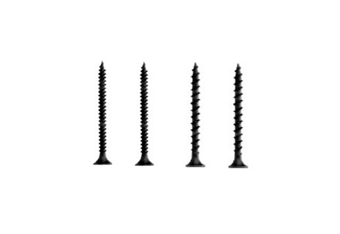 Bulge Head Drywall Screws with Black Finish