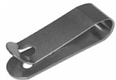 Spring steel belt clip